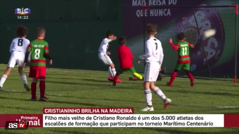 NINTCHDBPICT000483504213 - Cristiano Ronaldo Son Scores 7 Goals In One Match To Breaks Ronaldo Record- RichTV Nigeria