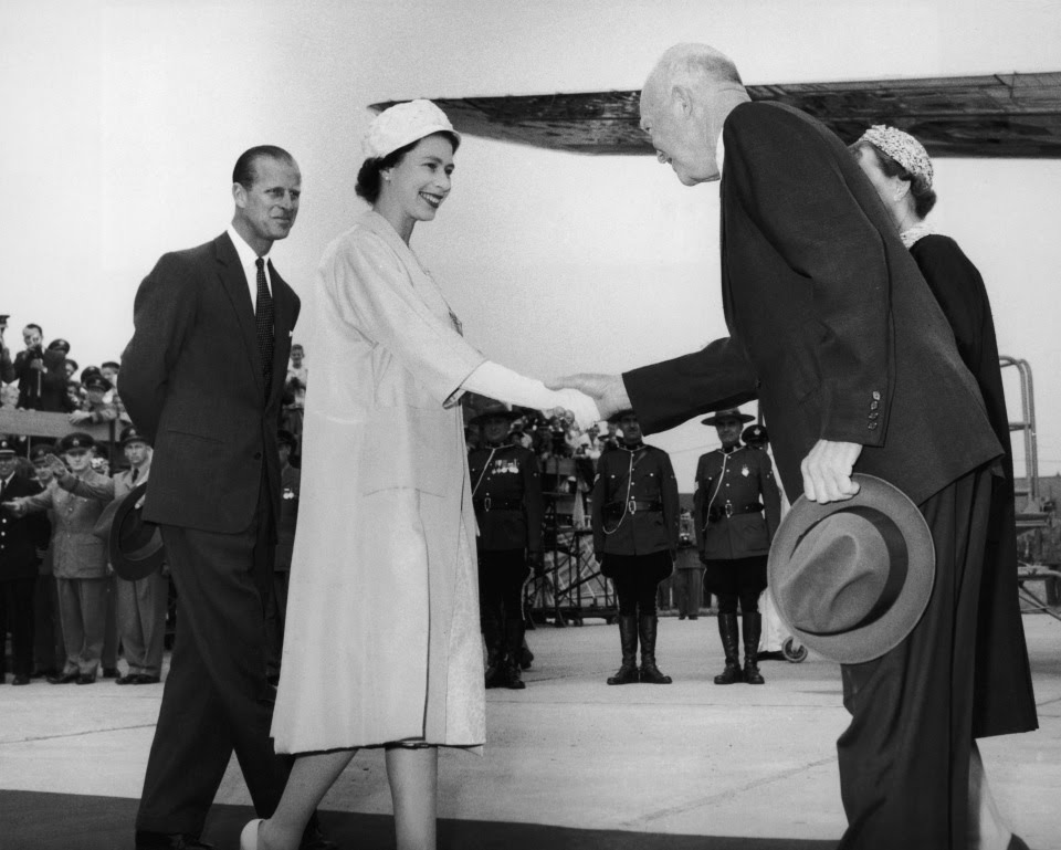 Former American President Dwight Eisenhower stayed with the Queen and was a fan of her pancakes