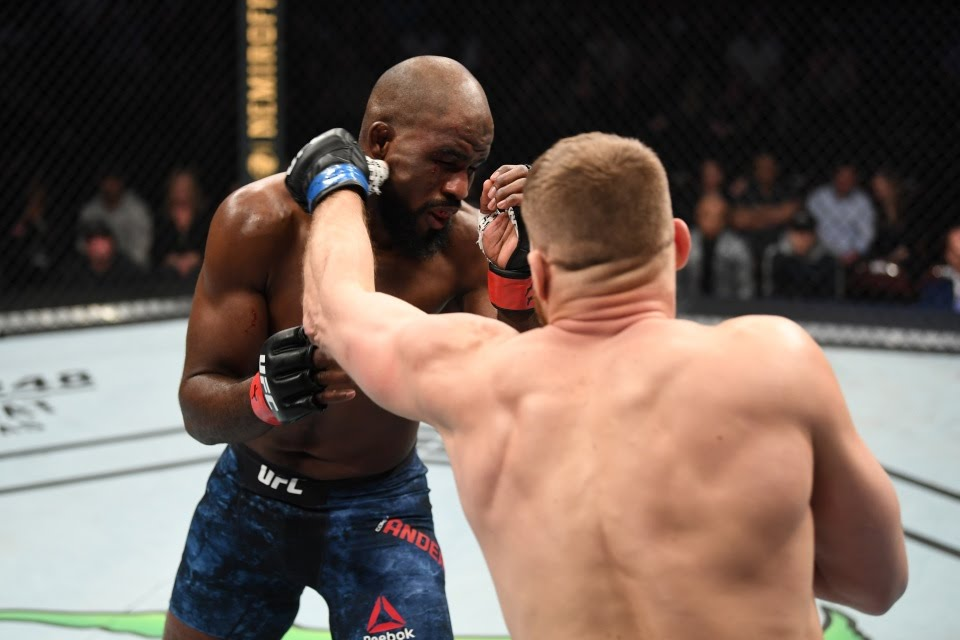 Anderson was on a four-fight winning streak in the UFC before he was knocked out by Blachowicz