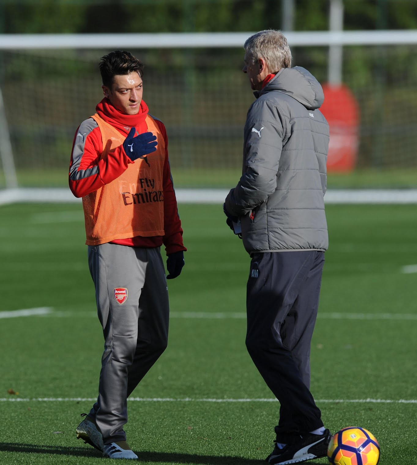 Ozil has pointed that it was Wenger who signed him, and showed he wanted him at Arsenal